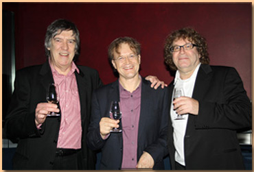 Andrew with Randy Edelman & Ludwig Wicki